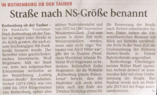 """Bad Tölzer Kurier"" vom 25. November 2014"