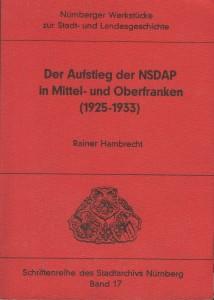 Literatur-Titel-Diss. NSDAP in FRanken