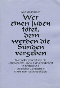 Litertur-Judenfeindschaft Stegemann