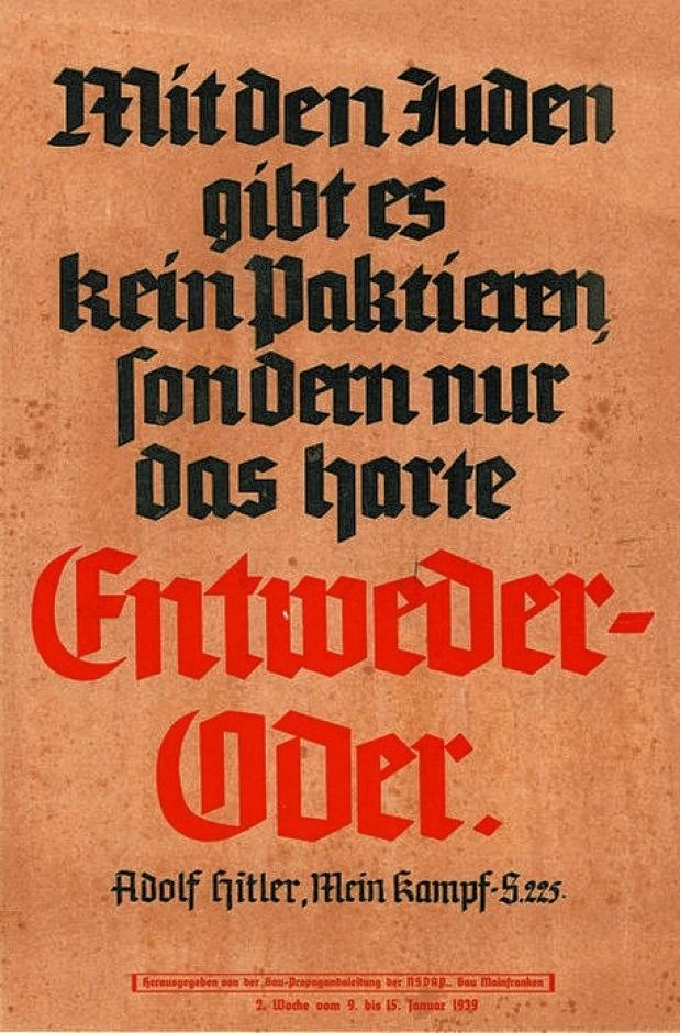 Antisemitisches Plakat