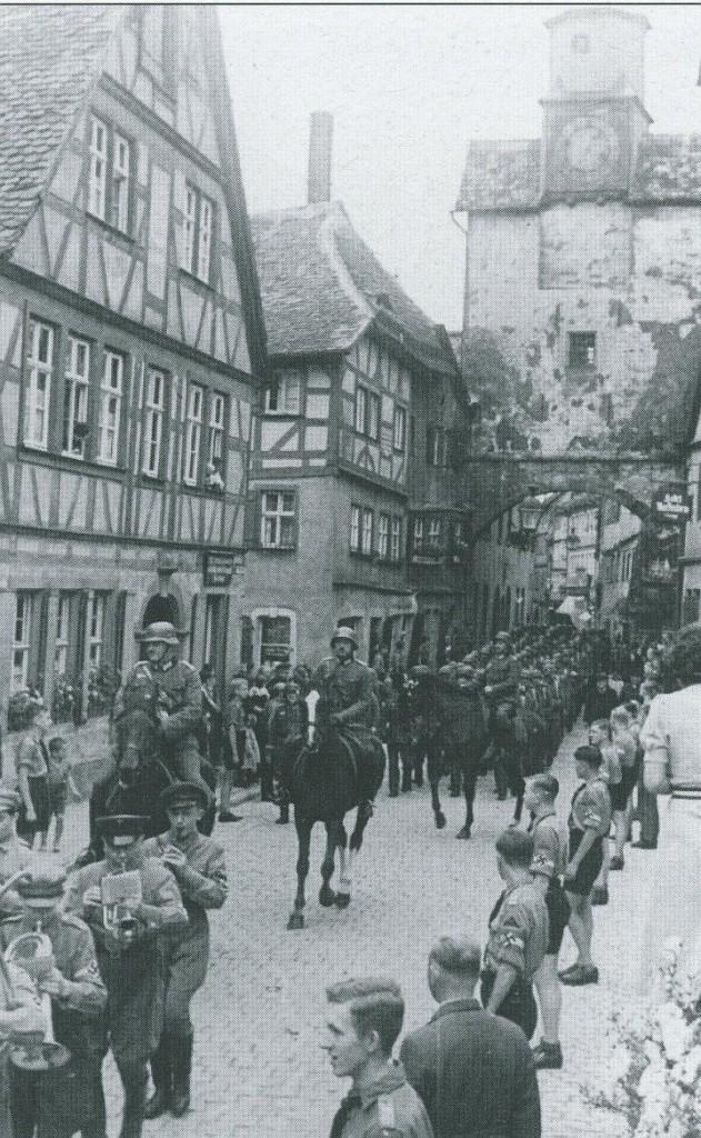 Landesschützen in der Stadt, Jahr unbekannt