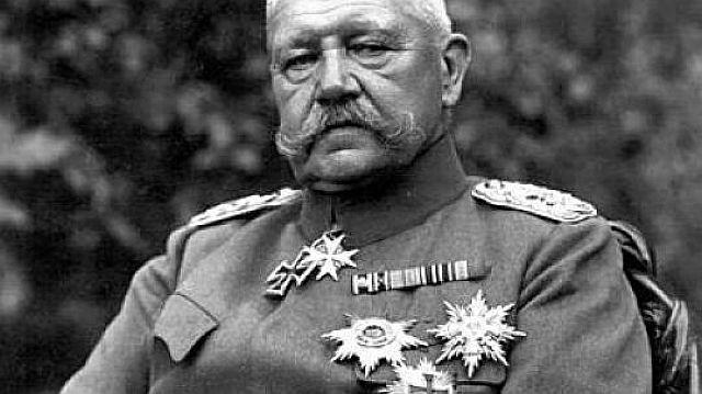 Reichspräsident Paul vin Hindenburg