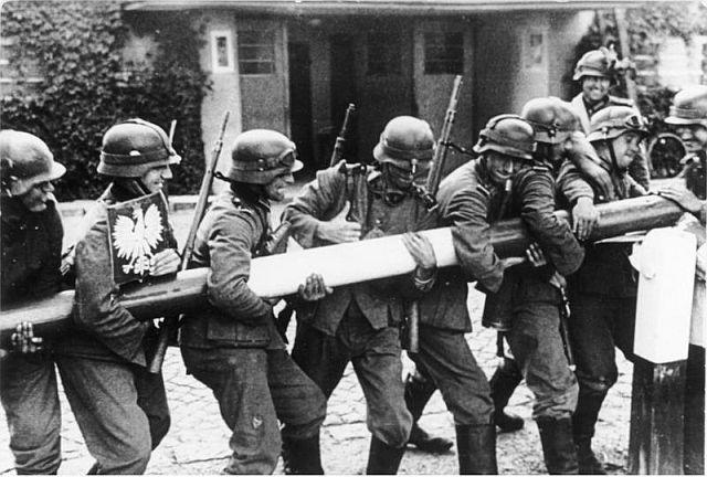 Überfall auf Polen; Foto: Bundesarchiv