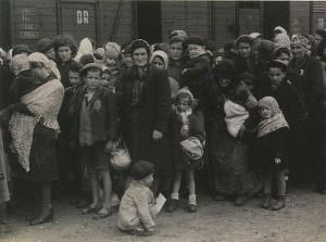 Zur Ermordung nach Auschwitz