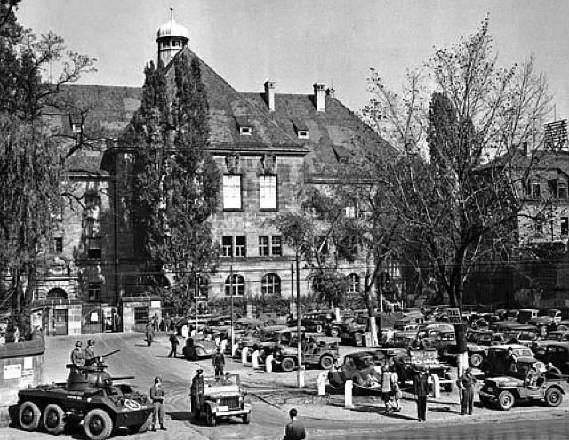 Nürnberger Justizpalast, Prozesse gegen die Hauptschuldigen des NS-Regimes