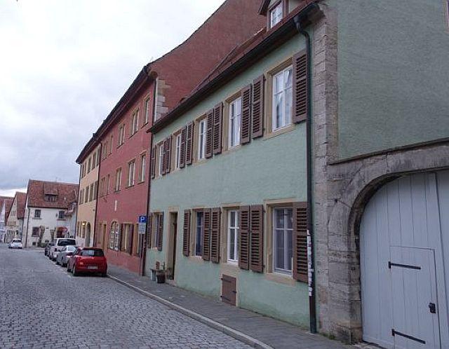 Die ehem. Friedle-Häuser Klingengasse 4 und 4a; Foto: Gußmann (2016)