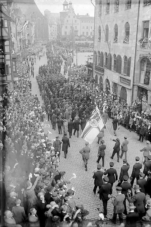 """Deutscher Tag"" in Nürnberg 1923"