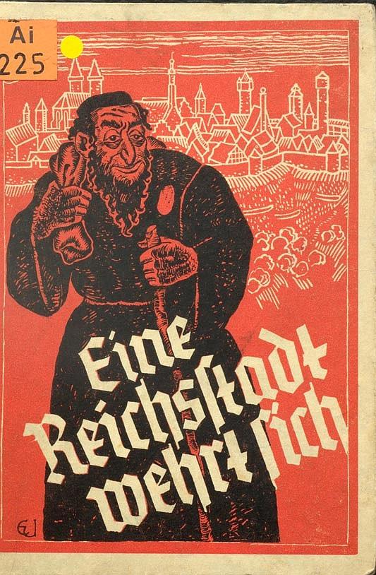 Antisemitisches Buch über die jüdische Geschichte Rothenburgs