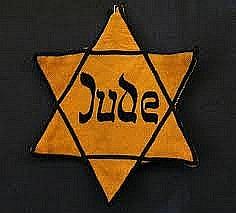 Der gelbe Judenstern als Ausgrenzungszeichen