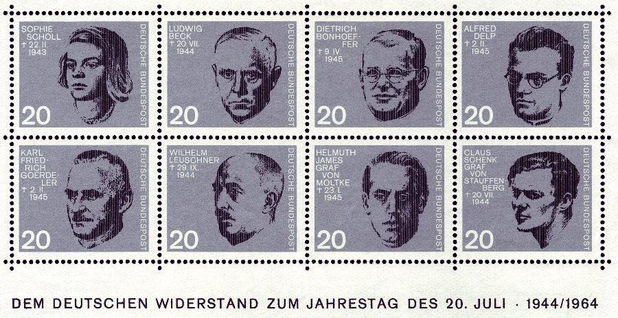Chronik-1944 BRiefmarken zum Jahrestag