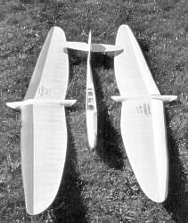 In Rothenburg hergestellter Flieger