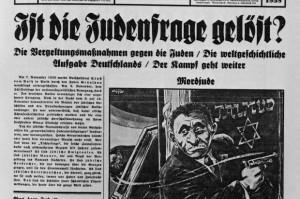 """Das NS-Hetzblatt """"Der Stürmer"""" forderte schon früh die Lösung der """"Judenfrage"""""""