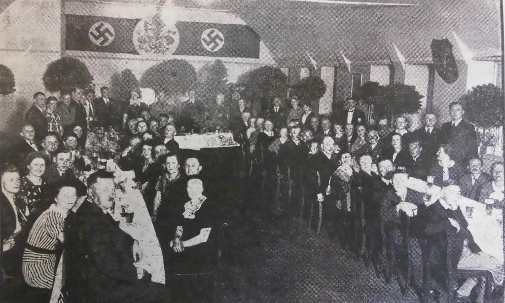 Belegschaftsfeier Gebr. Schneider am 26. Mai 1937