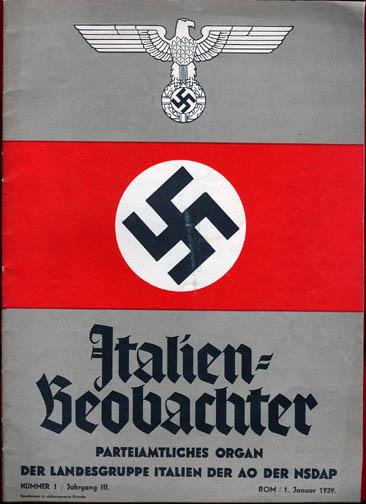 NS-Propaganda der Auslandsdeutschen in Italien