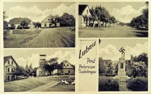Postkarte aus dem heimgeholten Sudetenland