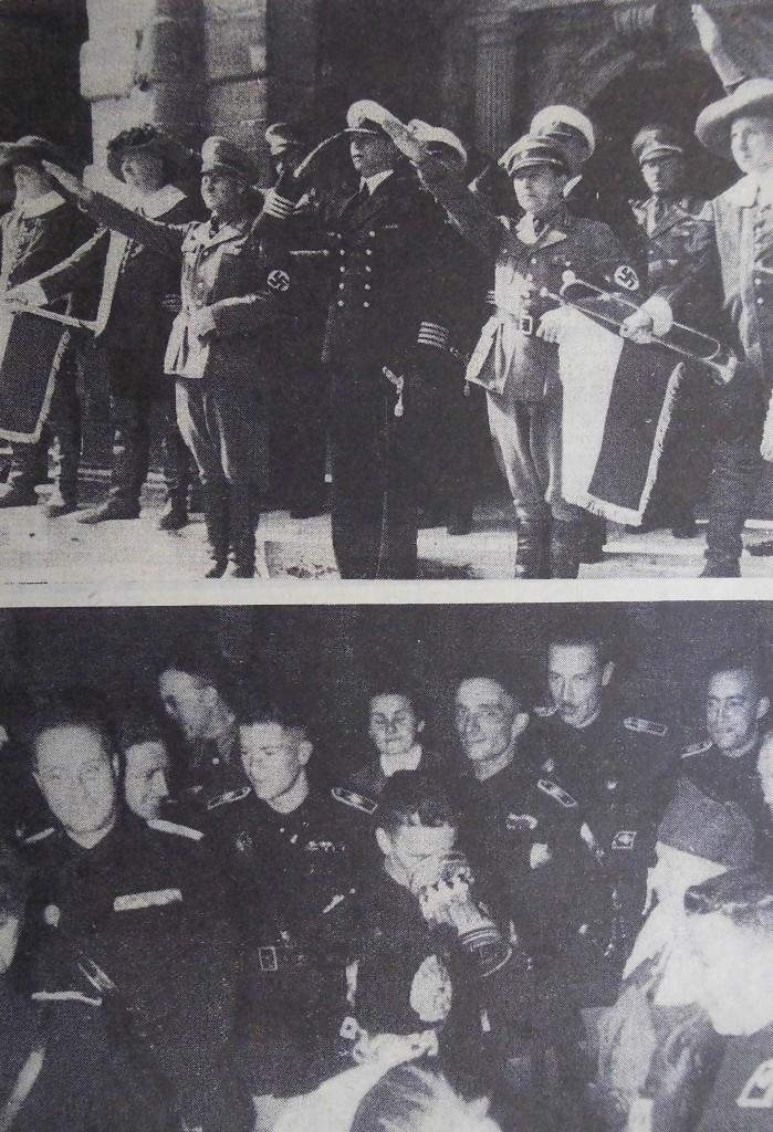 Marine-Abteilung zu Besuch in Rothenburg