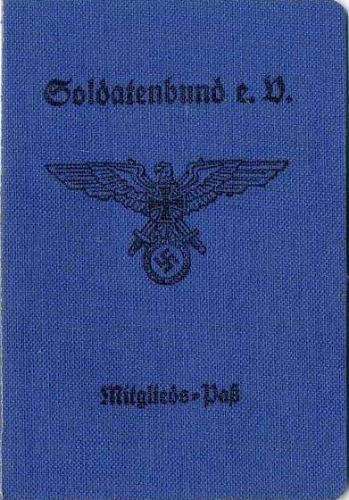 Mitgliedausweis des Soldatenbunes