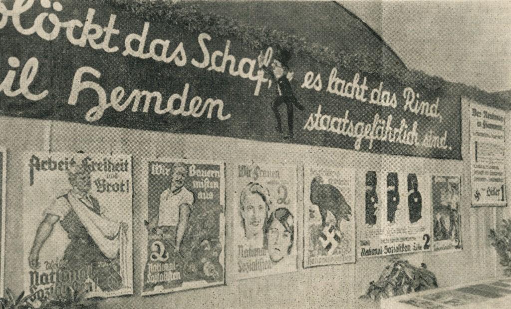 Ausstellungtsfoto; entnommen dem Fränkischen Anzeiger