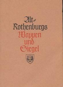 """Titel des Buches, das das nationalsozialistische """"Vermächtnis"""" an die Mitglieder des VAR enthielt, 1941"""