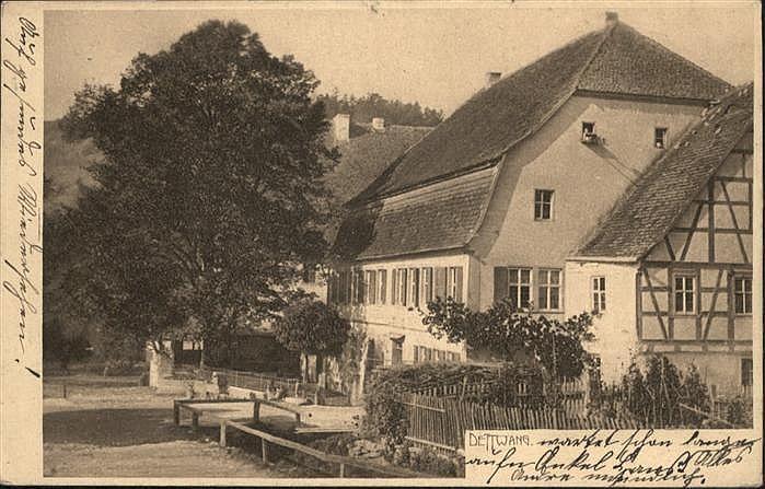 Gasthaus Schwarzes Lamm in Detwang