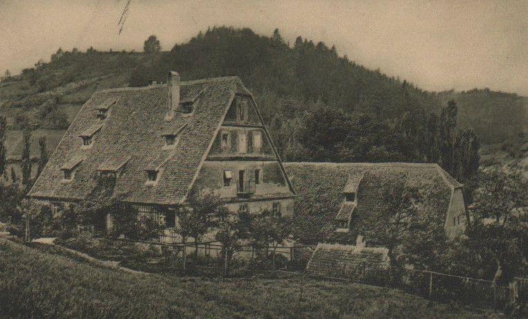 Tatort des Tötung: die Bronnenmühle