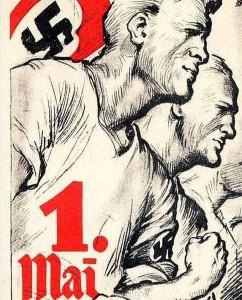 Propagandaplakat zum 1. Mai