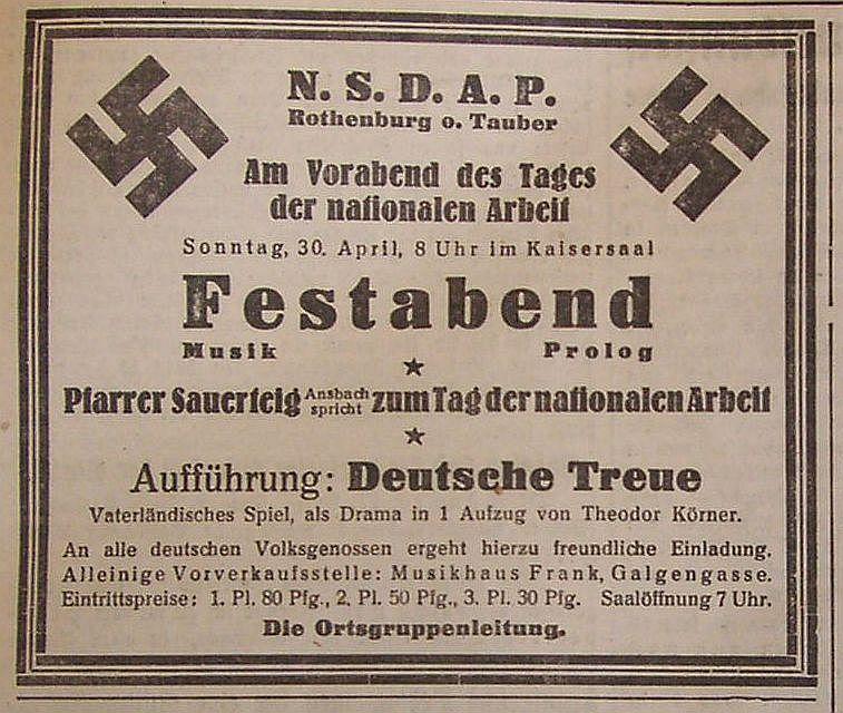 1 mai 1933 hitler eiche im burggarten als gel bnis. Black Bedroom Furniture Sets. Home Design Ideas