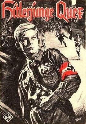 "Plakat des NS-Helden-Films ""Hitlerjunge Quex"""