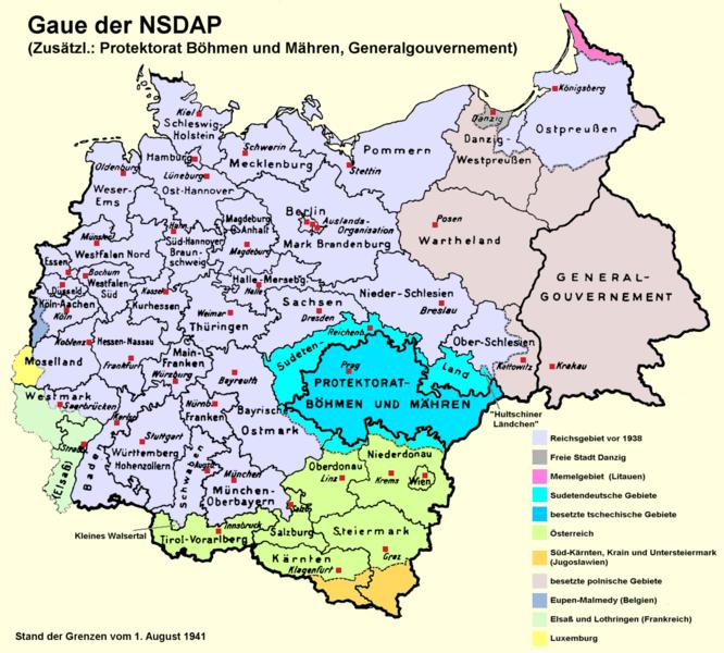 NSDAP-Gaukarte