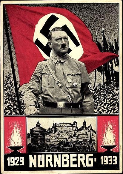 Plakat 1933 - Zehn Jahre Reichstage 1923 - 1933