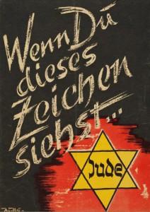 Antisemitischer Handzettel