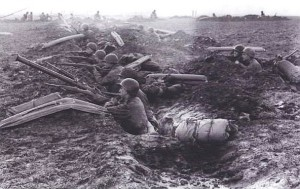 US-Soldaten im Gelände (nicht Rothenburg)