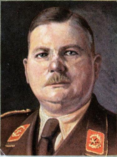 SA-Stabchef Ernst Röhm wurde 1934 auf Befehl Hitlers ermordet