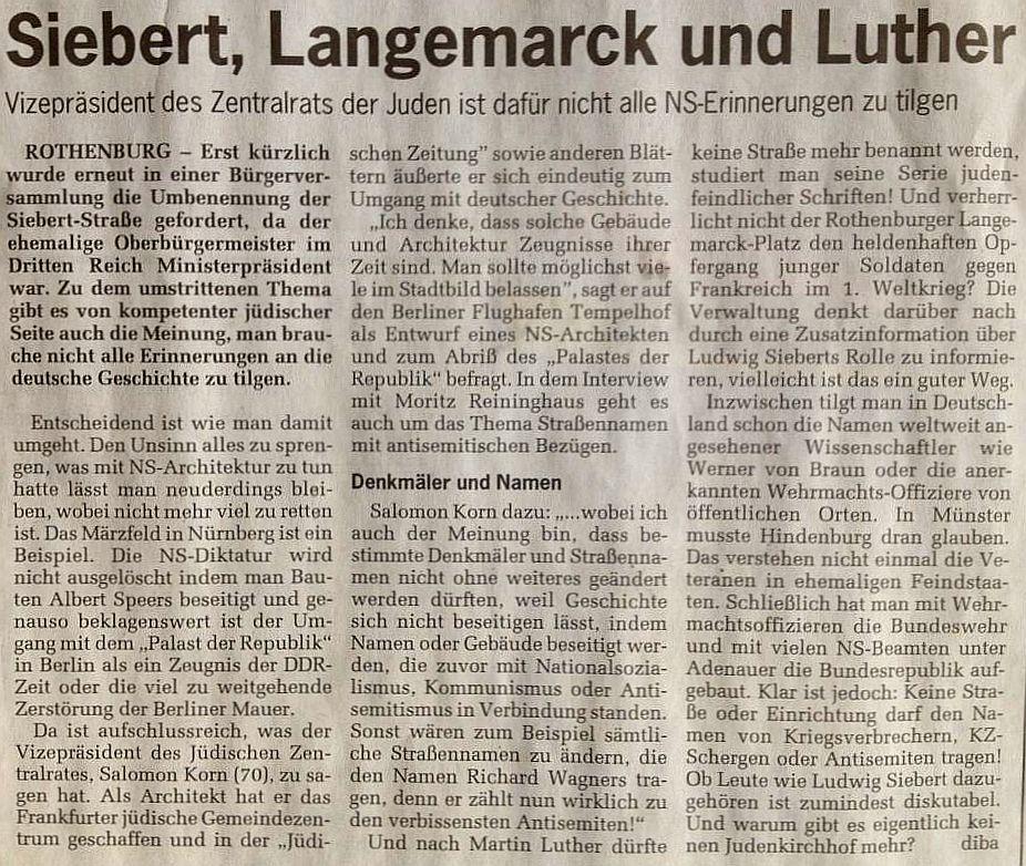 """""""Fränkischer Anzeiger"""" vom 30. Dezember 2013"""