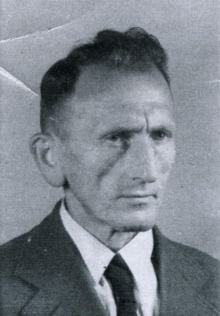 Der Vater Karl Probst 1945/46