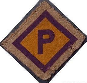 Das polizeilich vorgeschriebene Polen-Abzeichen