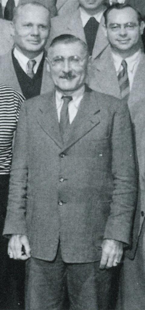 Schulleiter Hoffmann (Ausschnitt aus Lehrerfoto 1953)