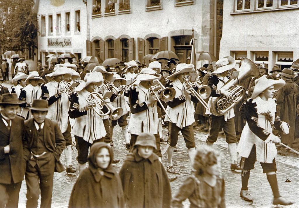 Hans Lorenz Fürst,  städtischer Musikmeister in Rothenburg 1912