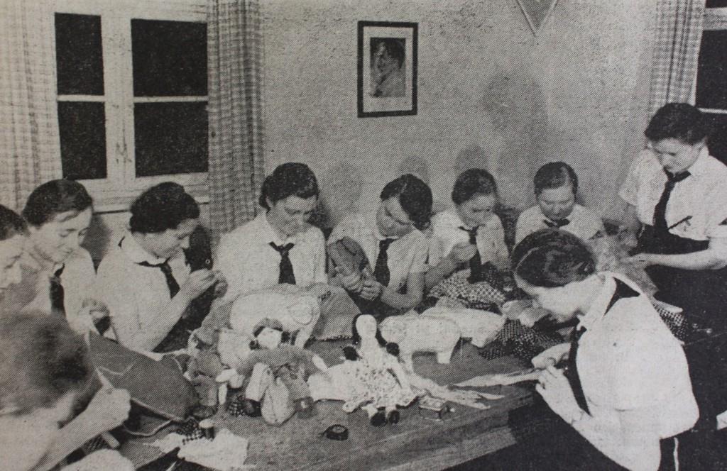 Frauen der Rothenburger Ortsgruppe