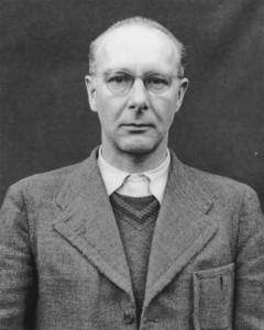 Viktor Brack in Nürnberg angeklagt