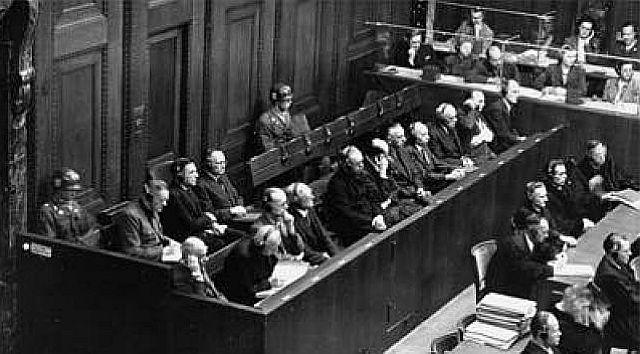 Juristen-Prozess 1947 in Nürnberg
