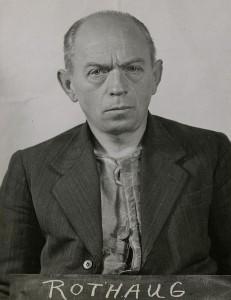 """""""Blutrichter"""" Oswald Rothaug als Häftling der Alliierten"""
