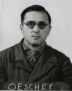 Sonderrichter Oswald Oeschey als Häftling 1946