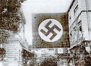Frauenklinik Erlangen während der Reichsparteitage 1934