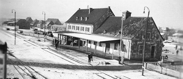 Bahnhof Illesheim