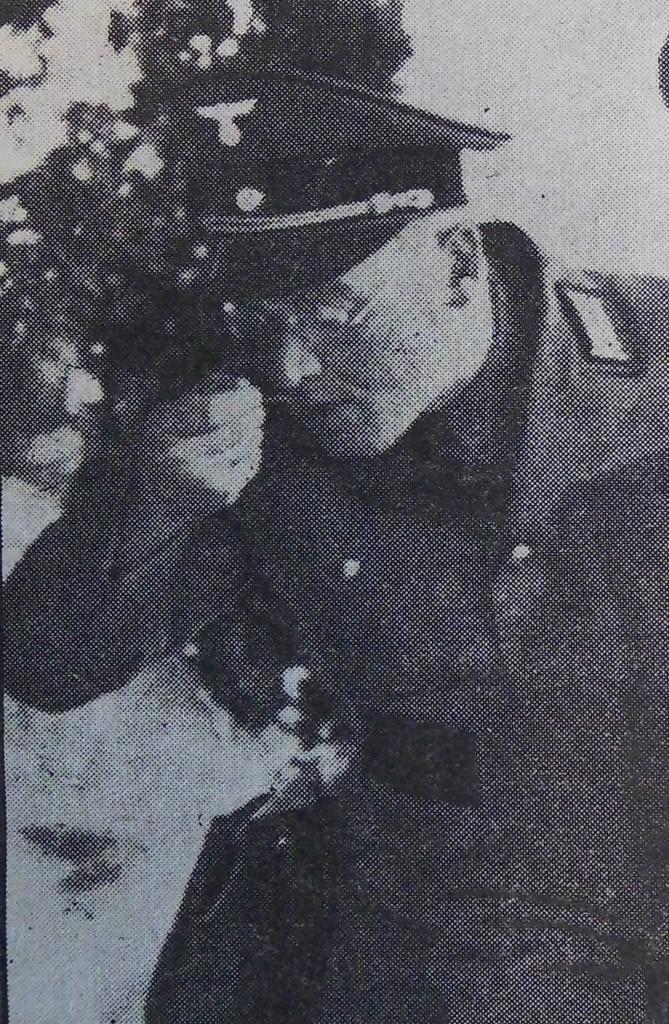 NSDAP-Kreisleiter Steinacker testet in Wildbad das Eintopfessen