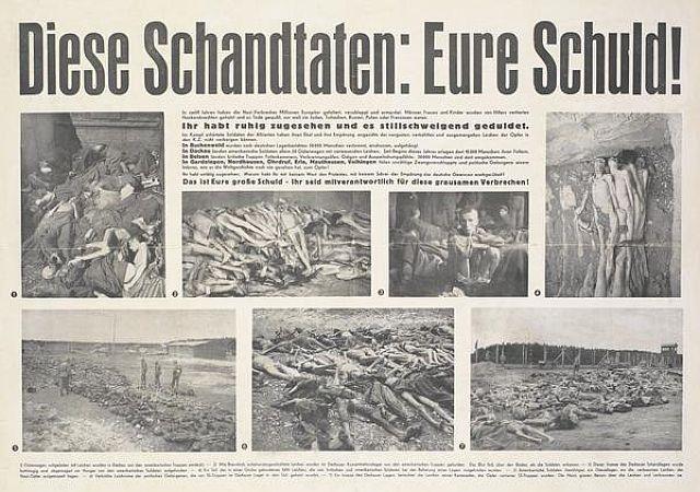 Die Opfer und die Schuld der Deutschen