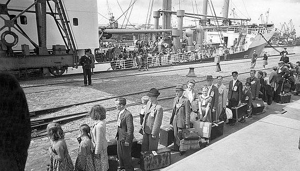auswanderern und pleite