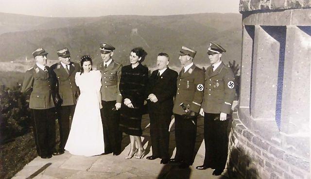 Böhms NS-Hochzeit mit ... Edelhäuser auf  der Ordensburg1938