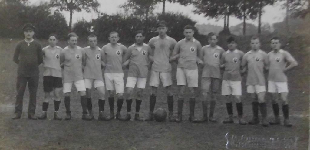 Mannschaft des Fußball-Clubs 1919 Rothenburg (FCR)
